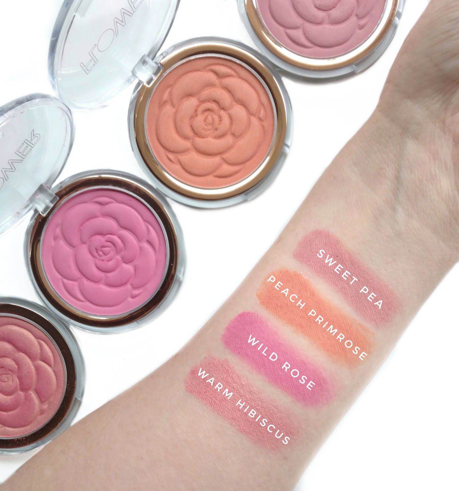Flower Beauty Flower Pots Blush Review Swatches Cosmetics