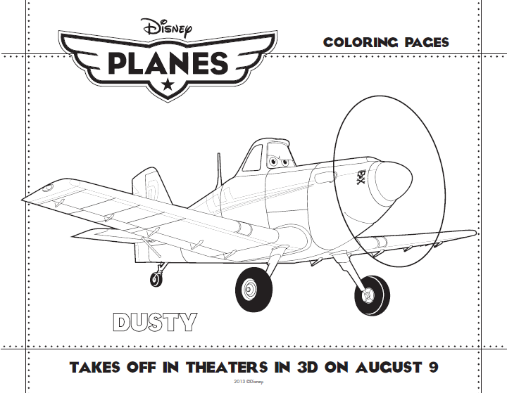 planes coloring pages for kids - photo#21