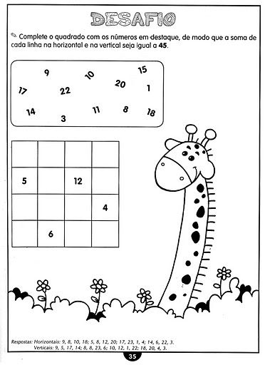 So Matematica 3º Ao 5ºano Com Imagens Atividades De Matematica