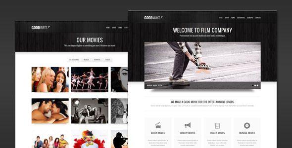 Goodways - Entertainment and Film WordPress Theme | Wordpress