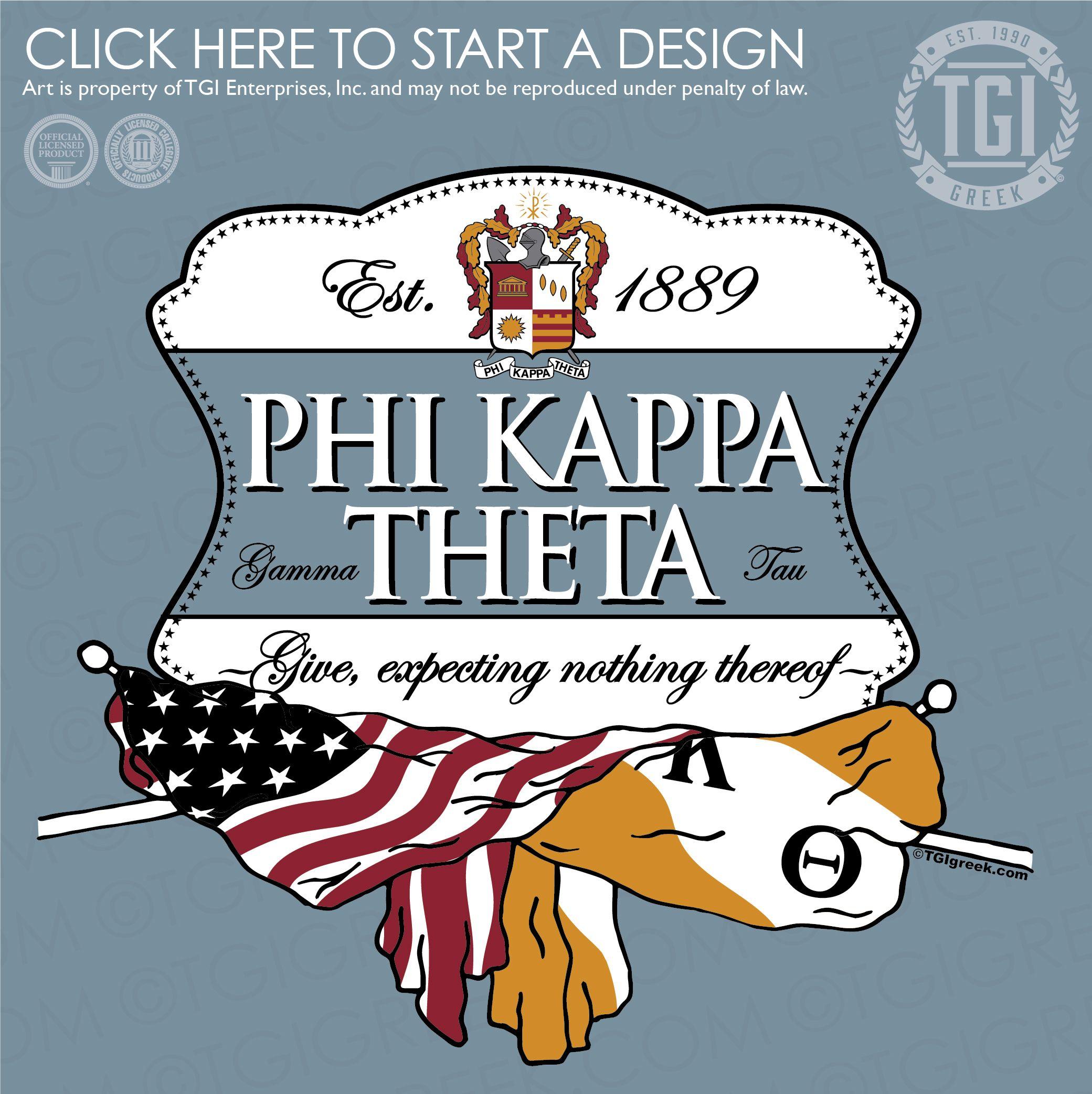 Phi Kappa Theta K Rush Rush Shirt Fraternity Rush Tgi