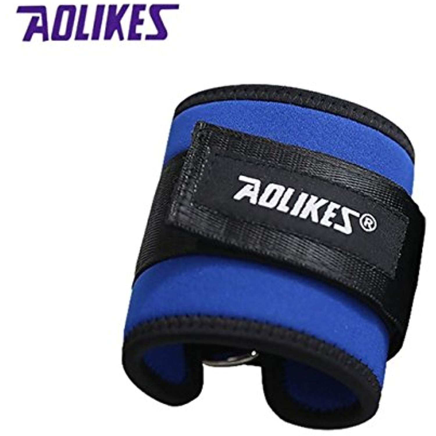 Sports Accessories Fitness Adjustable D-ring Ankle Straps Foot Support Ankle Protector Gym Leg Pullery With Buckle Sports Feet Guard Ankle Support