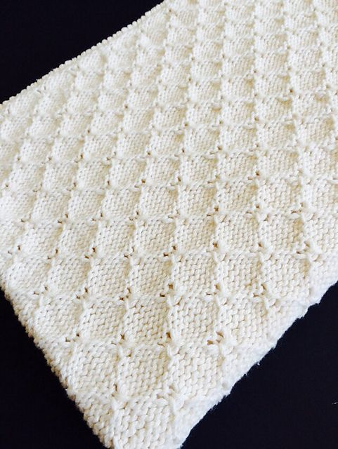 Ravelry: CrackerjackKnits\' Organic Cotton Baby Blanket | knitting ...