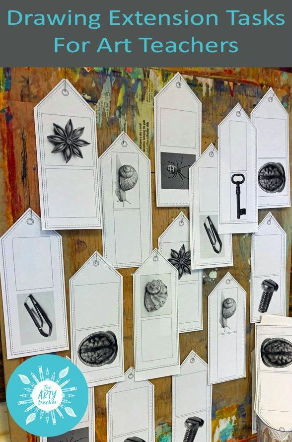 Drawing Extension Tasks For Early Finishers Resource For Art Teachers