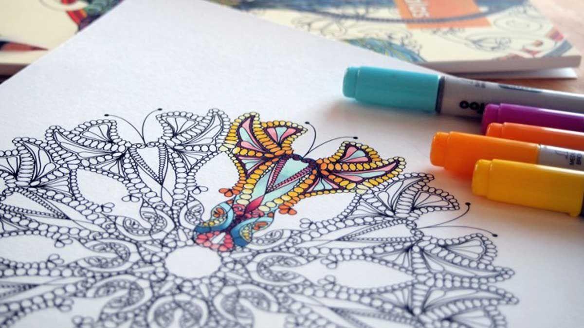 Psicólogos afirman que colorear es la mejor alternativa a la ...