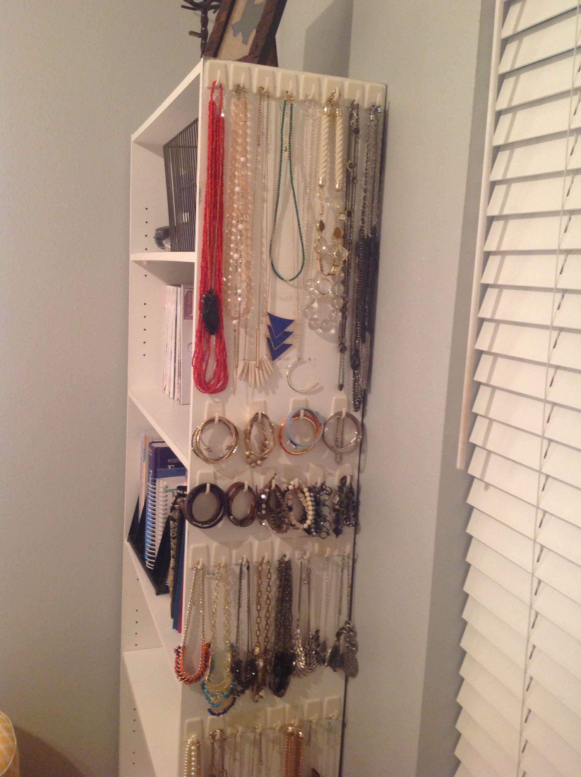 Diy dollar tree selfadhesive hooks for jewelry be