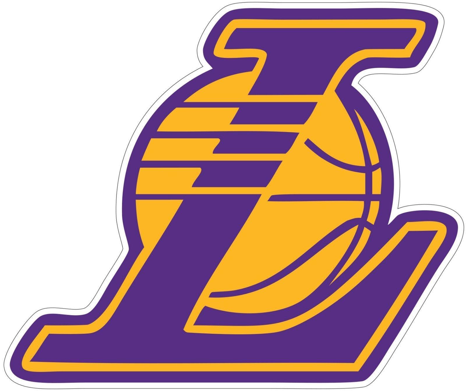 La Los Angeles Lakers Nba Vinyl Decal Sticker Sizes Free Shipping Https Uxshops Com Buy L Popular Bumper Stickers Nike Logo Wallpapers Vinyl Decal Stickers [ 1345 x 1600 Pixel ]