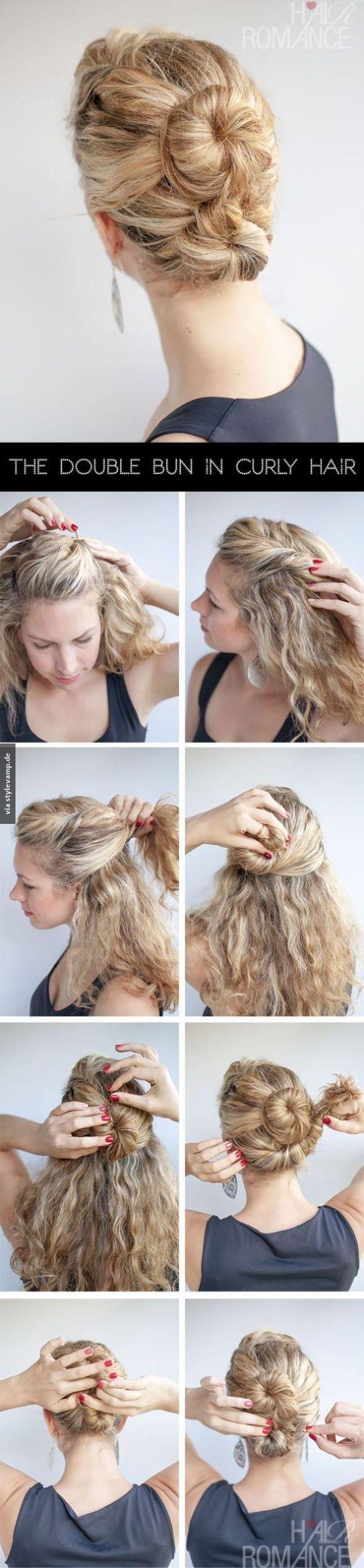 Magnifique chignon simple à réaliser hair pinterest hair style