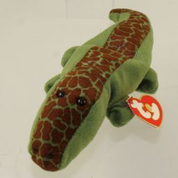 4a4c94b2ba6 TY Beanie Baby - ALLY the Alligator (3rd Gen Hang Tag - MWNMTs ...
