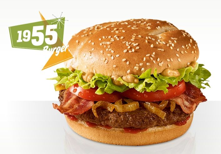 McDonald's 1955 Burger has traveled Europe to Germany.