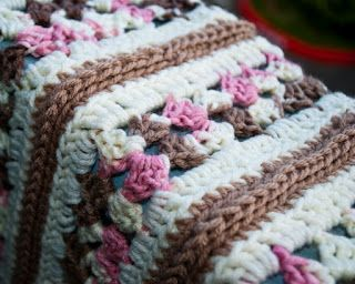Pamz Creative Obsession: The Mile-a-Minute Afghan - Free crochet pattern  ༺✿Teresa Restegui http://www.pinterest.com/teretegui/✿༻