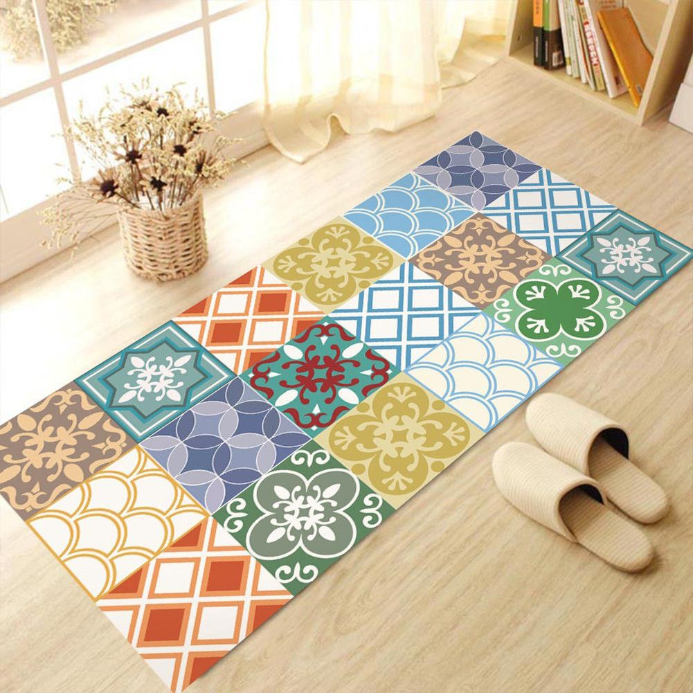 60x120cm Removable Floor Stickers Mediterranean Style Self Adhesive ...