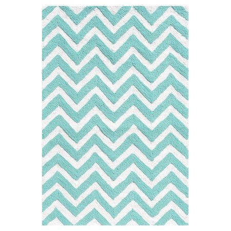Indoor Outdoor Rug With Teal Chevron Motif Product Rugconstruction Material Uv Polypropylenecolo Teal Rug Chevron Rugs Indoor Outdoor Rugs