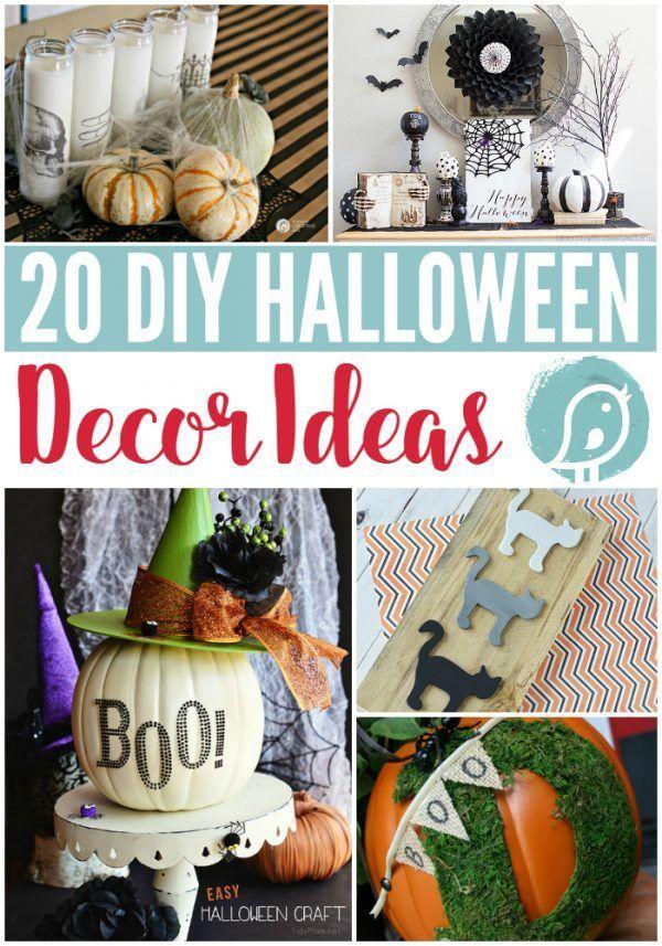 20 Diy Halloween Decor Ideas With Images Diy Halloween