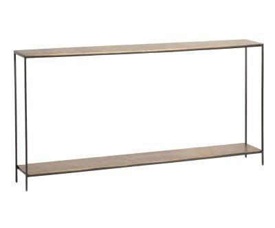 "Konzolový stolík ""Thomas Gold"", 20 x 153 x 76 cm"