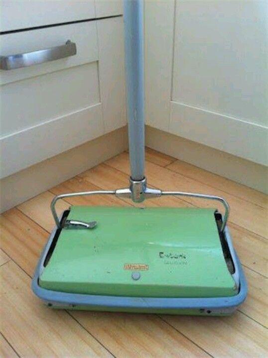 Vintage Mcm 506039s Hoover Sweep All Carpet Floor Sweeper