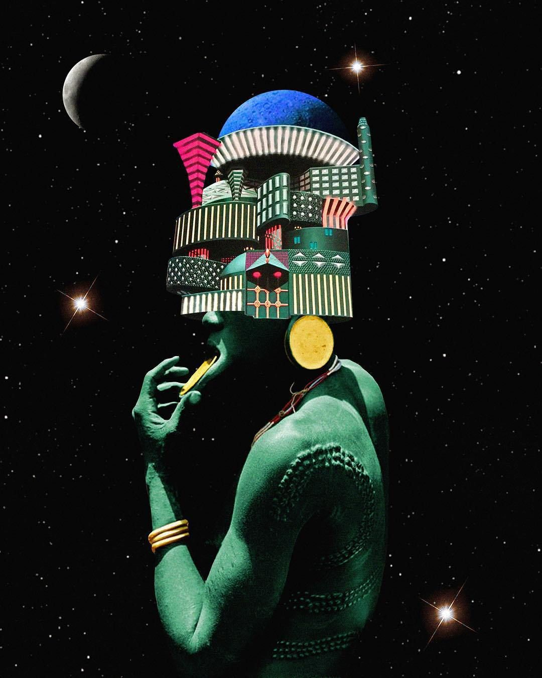 Pin By Pryce Jones On Intern Project Afrofuturism Art Afrocentric Art Futurism Art