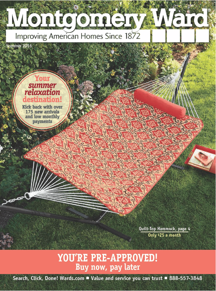 Here S How To Get A Free Catalog At Montgomery Ward Home Decor Catalogs Kirkland Home Decor Free Furniture