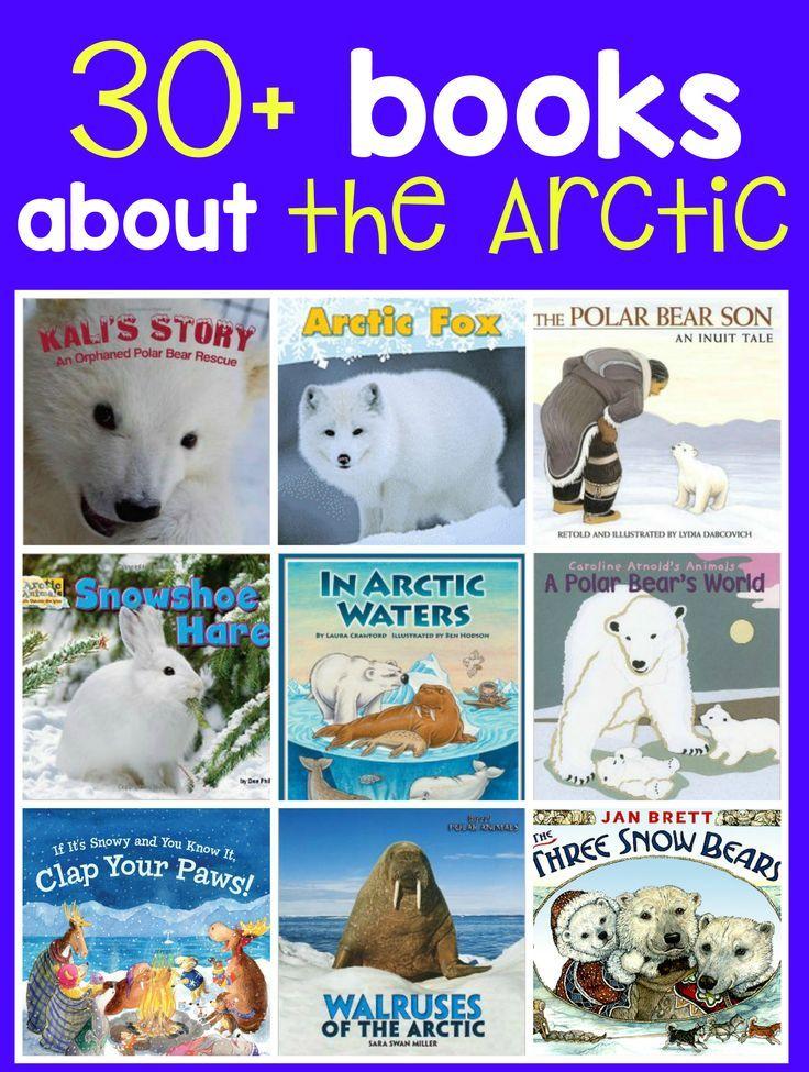 Books about arctic animals Arctic animals, Animal books