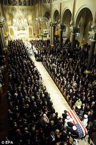 Senator Edward Kennedy's Funeral, 2009