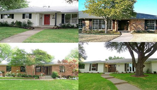 Trying To Choose Exterior Paint Colors Ranch House Exterior House Paint Exterior Painted Brick House
