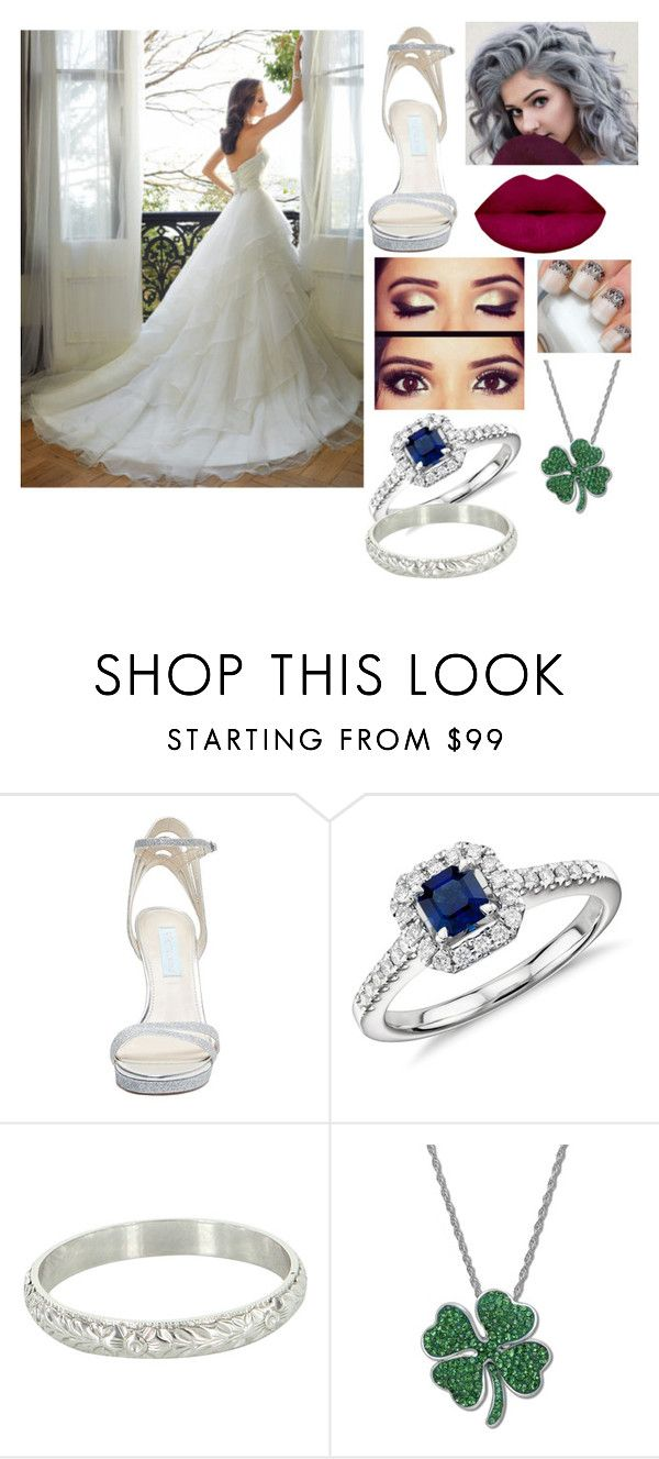 """Untitled #41"" by kixkeen ❤ liked on Polyvore featuring Betsey Johnson, Blue Nile, Vintage and Kaleidoscope"