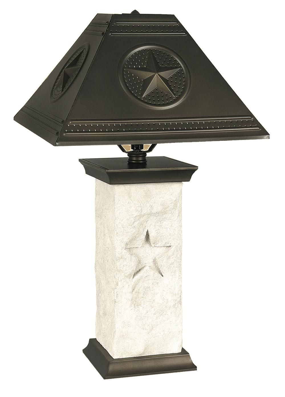 Rustic Texas Star Lighting Click On Photo To Zoom Click Outside Of Photo To Reset To Normal Zoom Rustic Star Star Lamp Rustic Trestle Dining Table