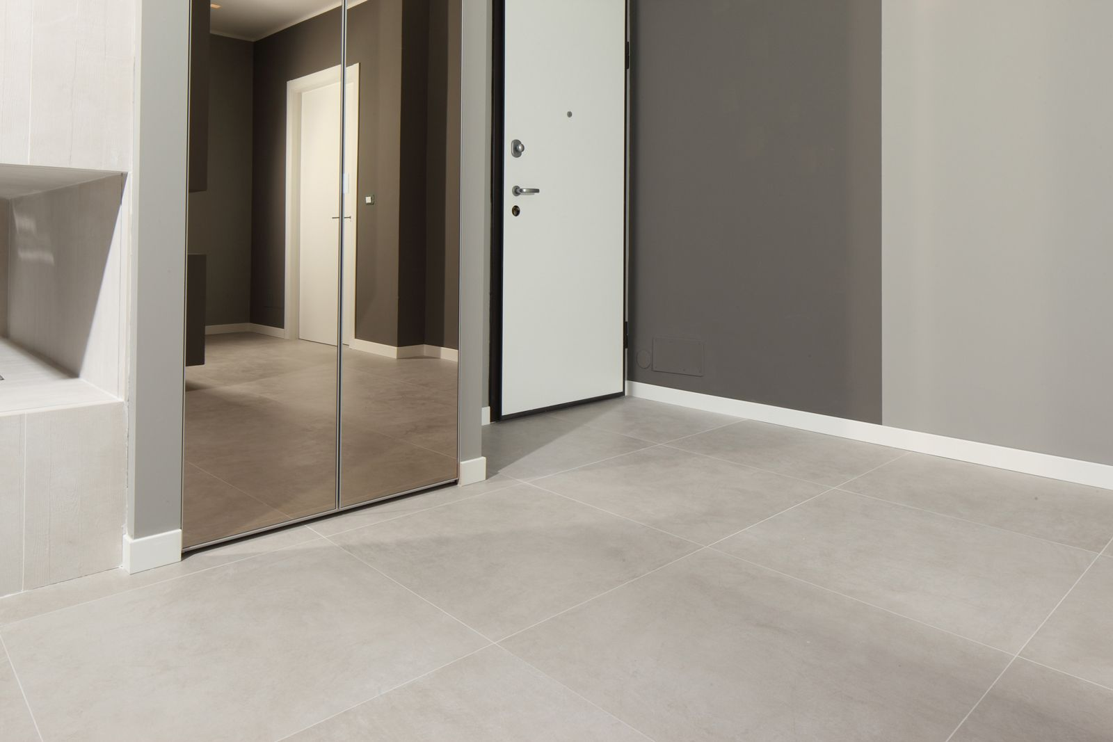 Soggiorno creativo legno - Piastrelle 10x10 bagno ...