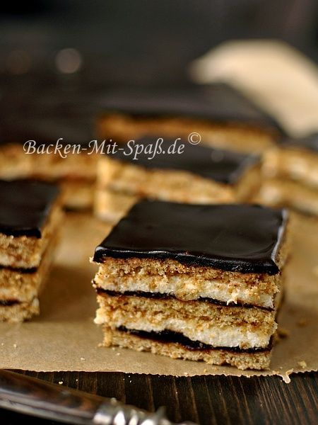 Honigkuchen mit Grießfüllung #czechfood