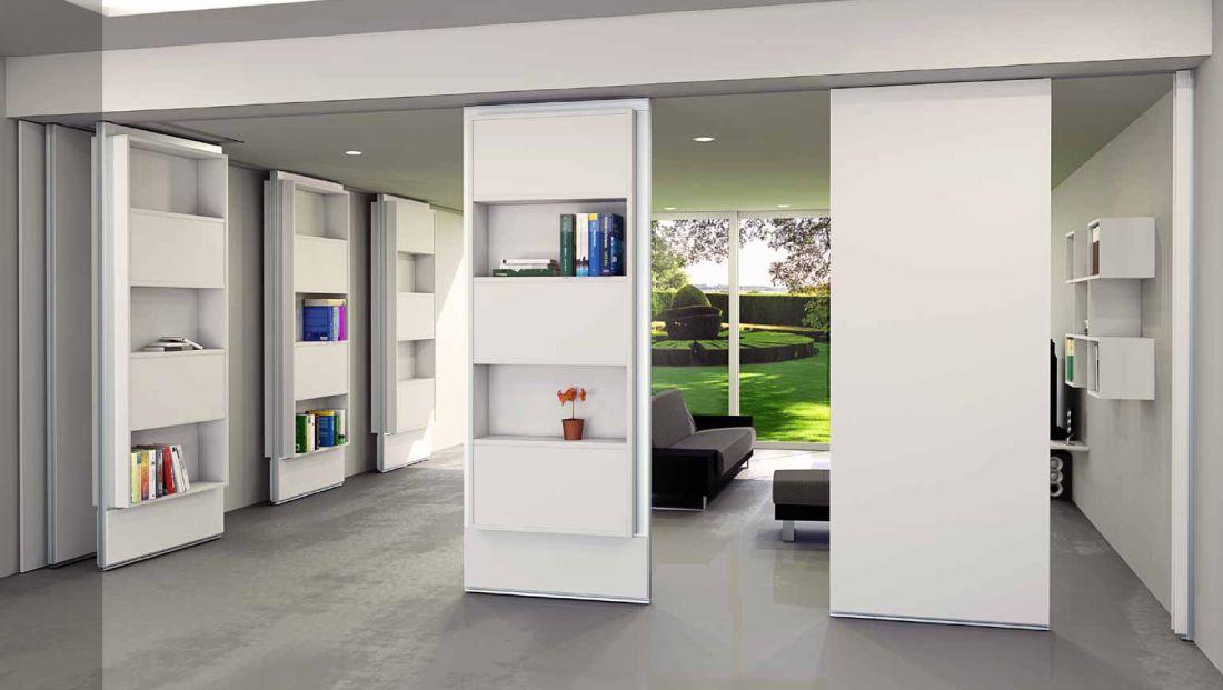 Pareti mobili divisorie per casa cerca con google for Idea casa mobili