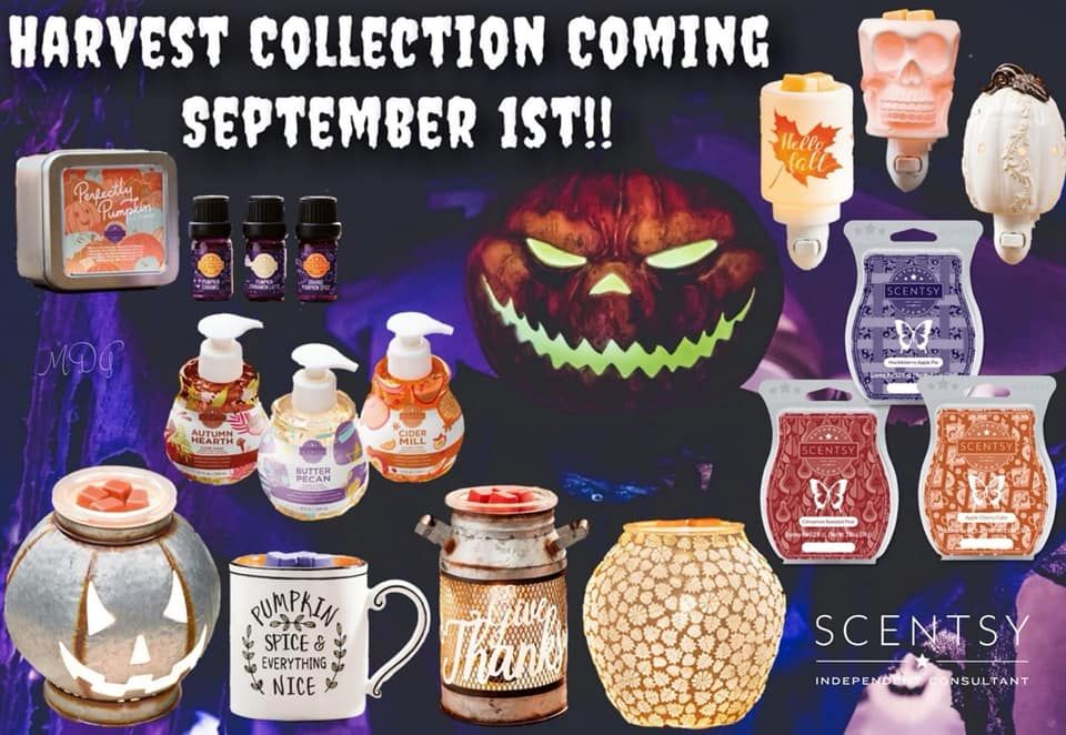 Scentsy's Fall Harvest/Halloween collection is here