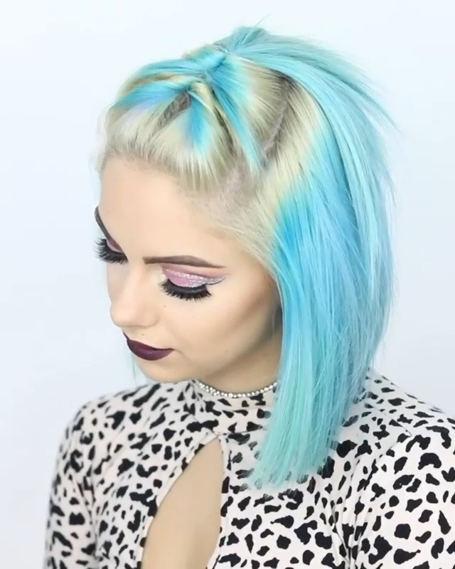 SIMPLE HAIRSTYLE IDEA