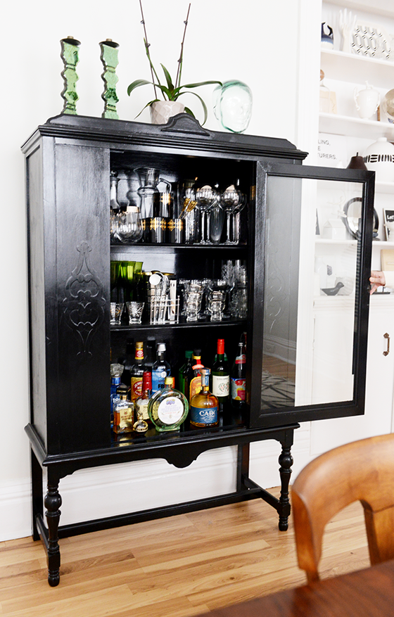 The Dining Room | Bar trolley, Cabinets and Liquor