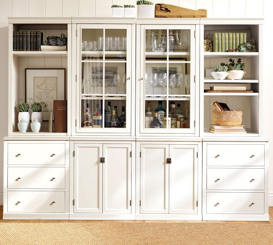 Logan Modular Wall System Pottery Barn Would Love It For