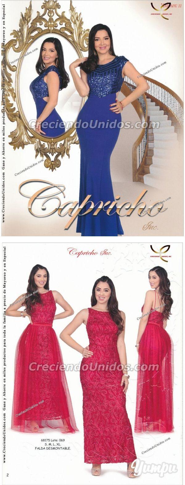 570 Capricho Volumen 11 La Ropa Mas Femenina En Usa Magazine With 230 Pages Mas De 25 000 Productos A Precio De Mayor Vestidos De Mujer Ropa De Mujer Ropa