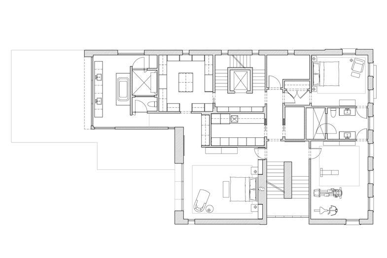 Lakeview Contemporary Massey Associates Architects Architecture Portfolio Design City Living Apartment House Floor Plans
