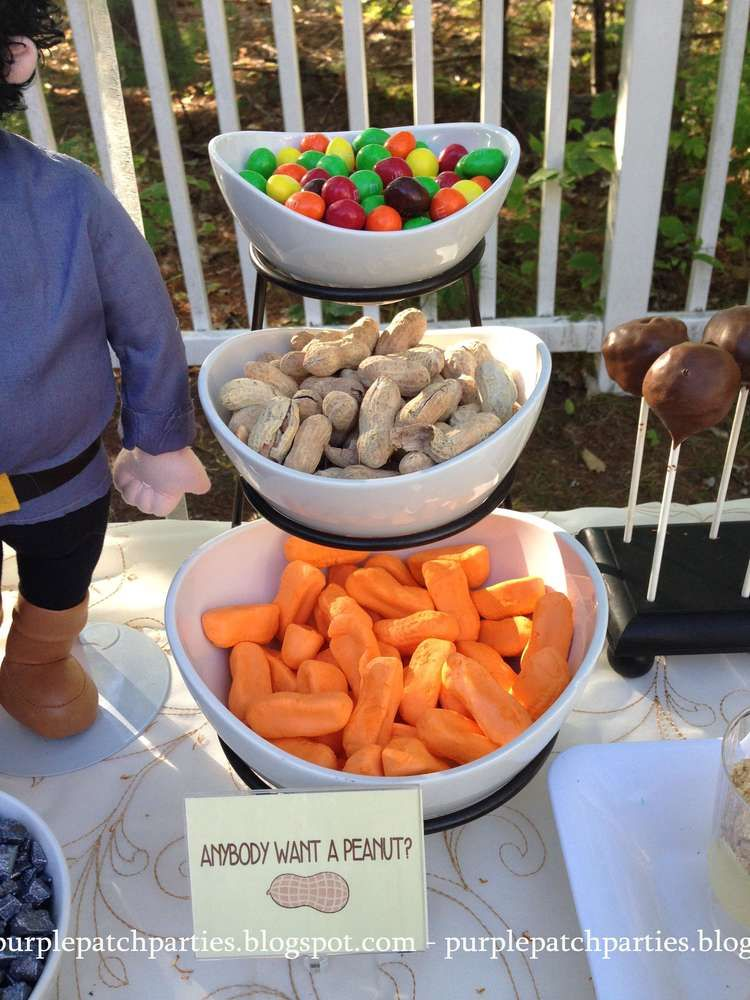 """Photo of """"Anybody want a peanut?"""" at a The Princess Bride Movie Night Party! See more par…"""