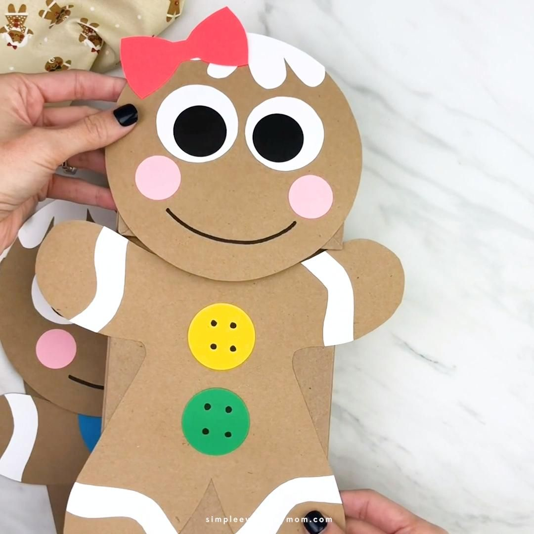 Photo of Gingerbread Man Craft