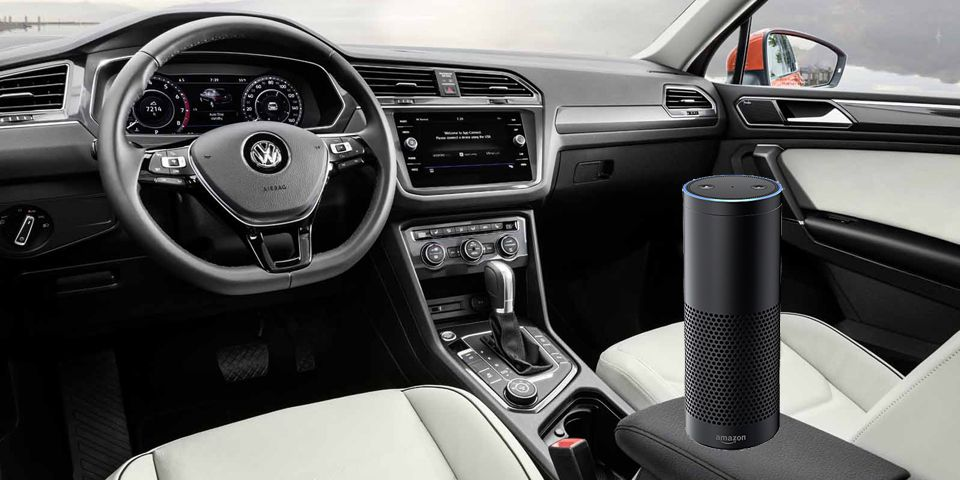 VolksMasters: VW Will Be First to Offer Amazon Alexa