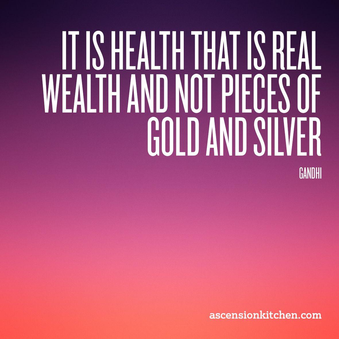 Health is wealth mind over matter pinterest