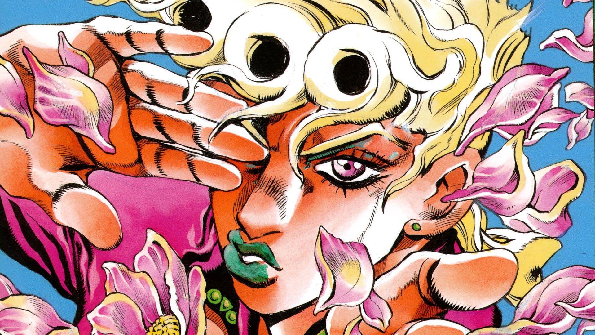 Jojo S Bizarre Adventure Giorno Giovanna Manga Giogio 1080p Wallpaper Hdwallpaper Desktop Jojo Bizarre Jojo S Bizarre Adventure Jojo Bizzare Adventure