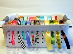 What a great way to organize those ribbons! Can't wait to get this.