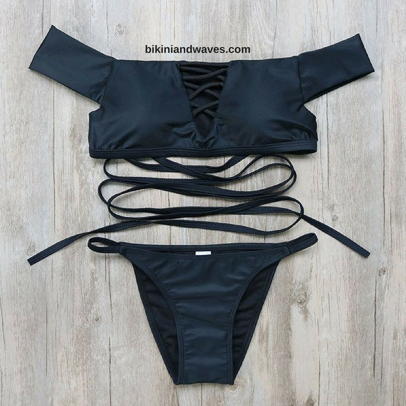 Steal the style!!  More choices at bikiniandwaves.com
