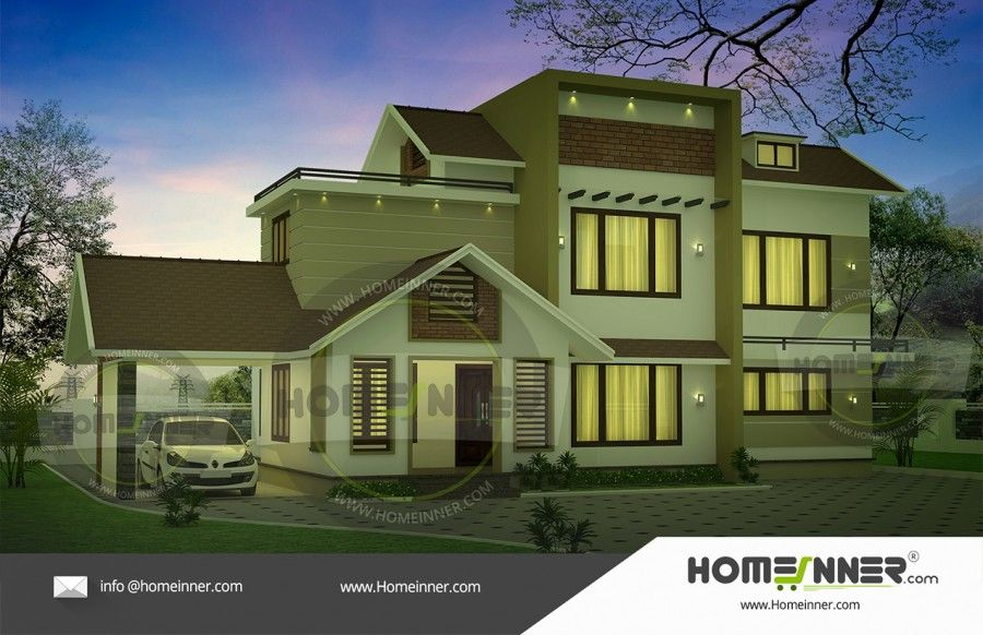 2300 Sq Ft House Plans India Homeinner Best Home Design Magazine Free House Plans House Plans Cool House Designs