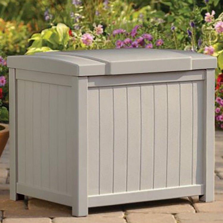 Outdoor Patio Storage Box Resin Deck Box Deck Box Small