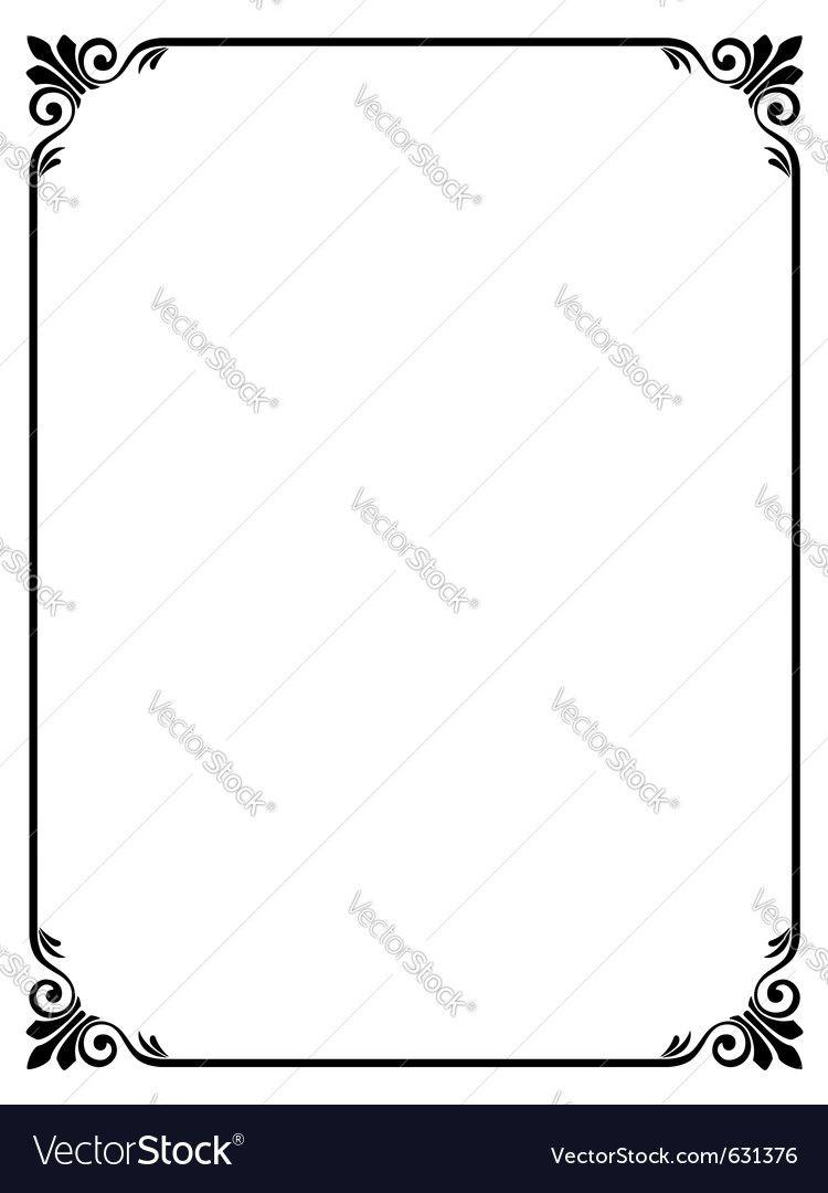 Fein Freier Illustrator Ränder Und Rahmen Fotos - Benutzerdefinierte ...