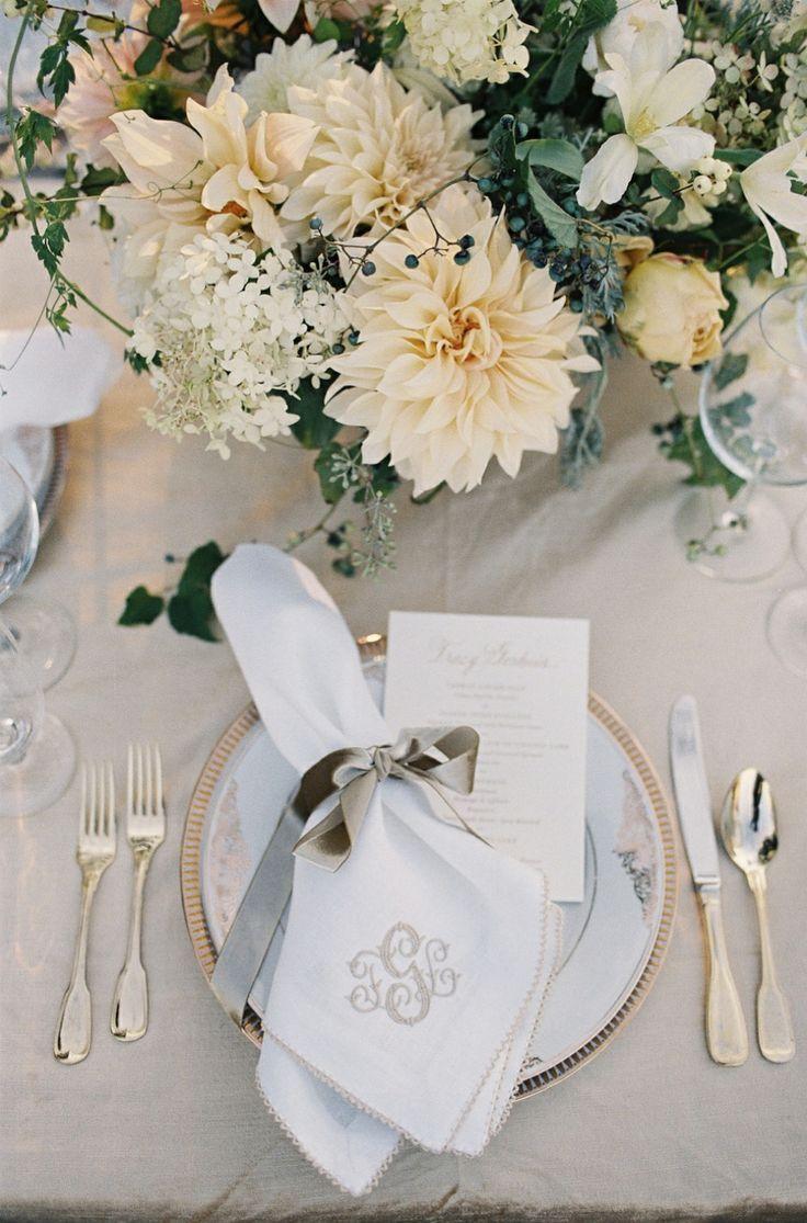 Monogramed napkins | Дома | Pinterest | Monogrammed napkins and Napkins