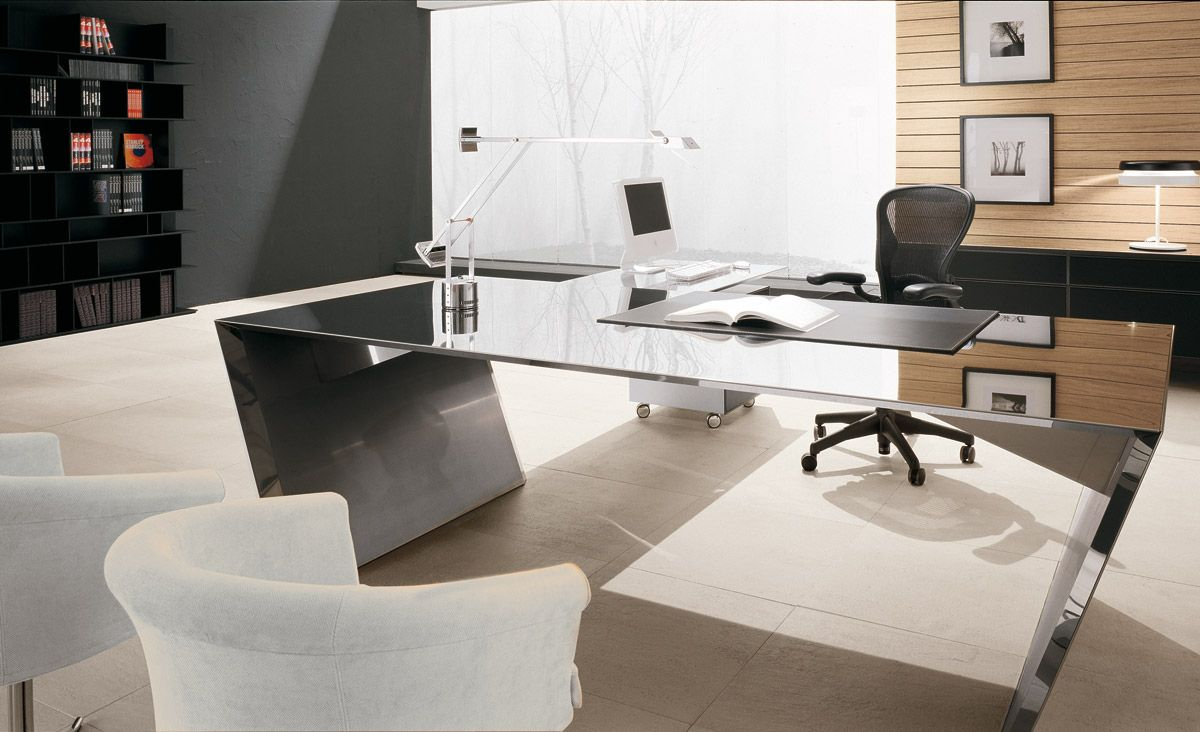 mesas despacho escritorio oficinas modernas casas modernas centro comercial estudios acero hogar accesorios