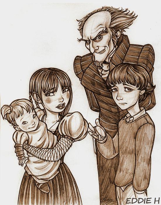 Lemony Snickett Artist Eddie Holly Deviantart Unfortunate Events Books A Series Of Unfortunate Events Baudelaire