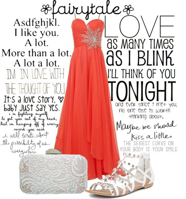 """Every Word You Said."" by mylifesparkles ❤ liked on Polyvore"